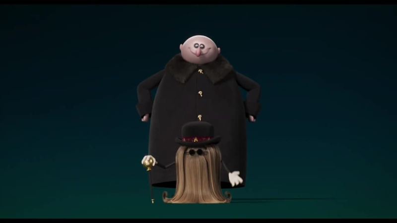 Семейка Аддамс Горящий тур (The Addams Family 2) (2021) трейлер - тизер русский язык HD Хлоя Грейс Морец