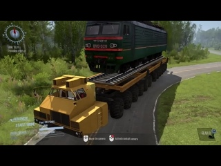 [CodexGT540m] Spintires Mudrunner - Military Mobile Bridge MZKT 79086 - Maz 7907 24x24  Heavy Cargo Cross