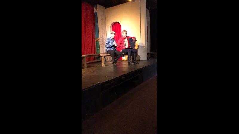 Вот какой был у нас антракт Театр Комедианты отличный спектакль Земляки по рассказам В М Шукшина