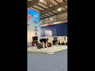 Артём Окулов - рывок 150