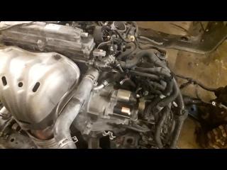 Обзор Двигателя Камри 40 2.4 2Az-fe