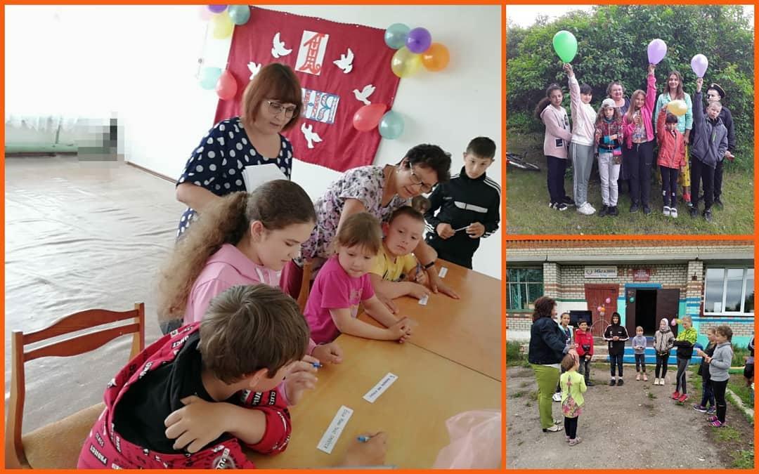 Вчера в сельских домах культуры Петровского района состоялись праздничные мероприятия, посвящённые Дню защиты детей