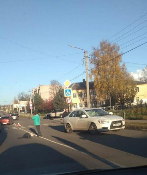 ДТП ул. Карла Либкнехта(у Гизы) на пешеходном пере...