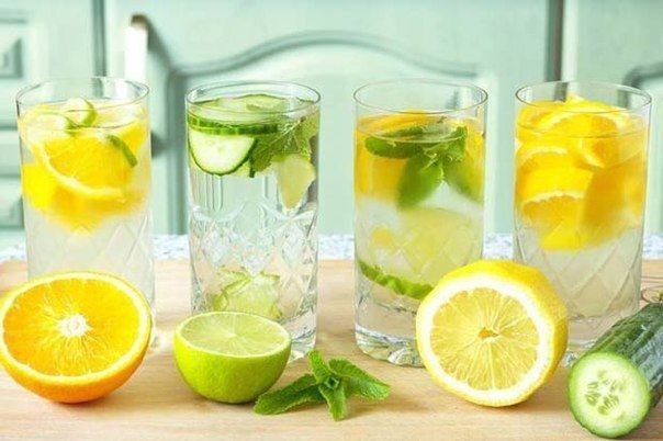 Вода с различными добавками поможет избавиться от лишних килограммов гораздо эффективней: