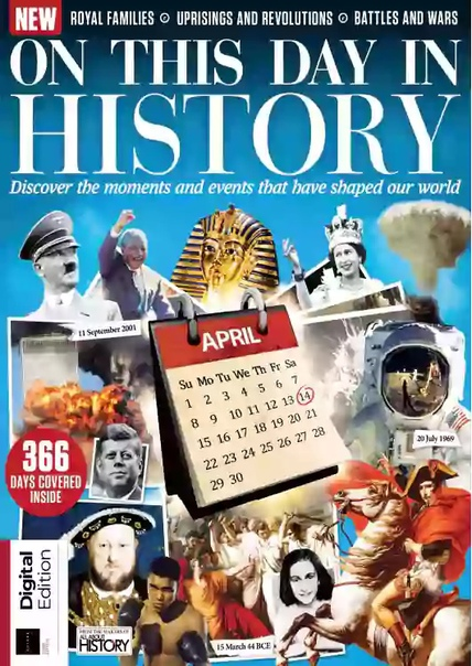 All About History - On This Day in History 3rd Edition  2021