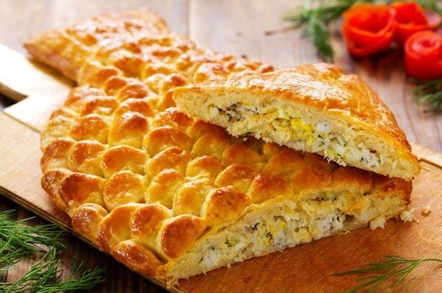 """как сделать пирог """"Овечка"""" с ореховой начинкой, как сделать пирог """"Рыба"""" с рыбной начинкой,"""