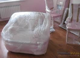 Упаковка мягкой мебели.