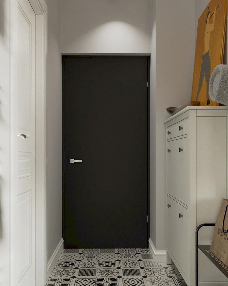 Концепт квартиры-студии 32 кв.