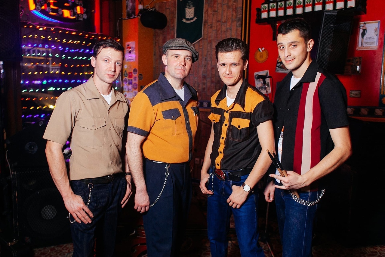 22.05 Panbrothers Band в Harat's Irish Pub!