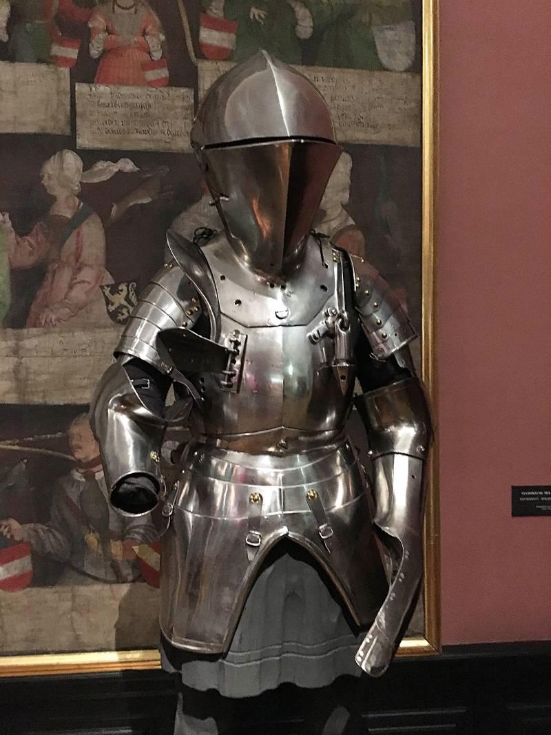 Новый доспех для поединка через барьер ок. 1550 г.