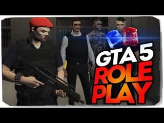 TheBrainDit ПЕРВЫЙ ДЕНЬ РАБОТЫ В ПОЛИЦИИ GTA5 RP! НАПАДЕНИЕ В ГЕТТО!
