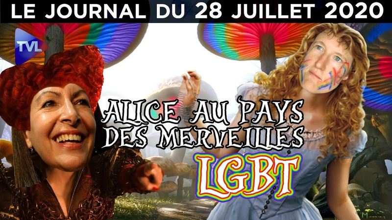 Alice Coffin la mauvaise graine parisienne JT du mardi 28 juillet 2020