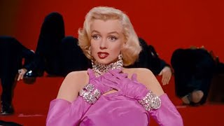 Marilyn Monroe — ♫Diamonds Are a Girl's Best Friend/Gentlemen Prefer Blondesᴴᴰ