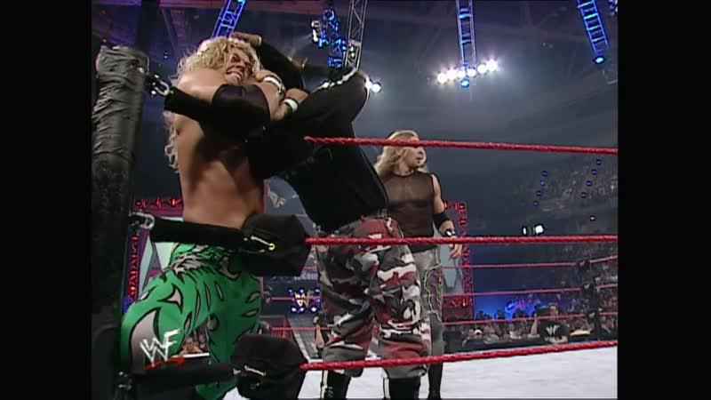 WWF Raw Is War 19 03 2001 Dudley Boyz vs Edge Christian