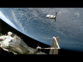 Космический грузовик Cygnus прибыл на МКС