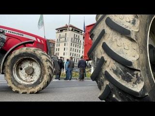 В Лионе фермеры протестуют против школьного меню без мяса…