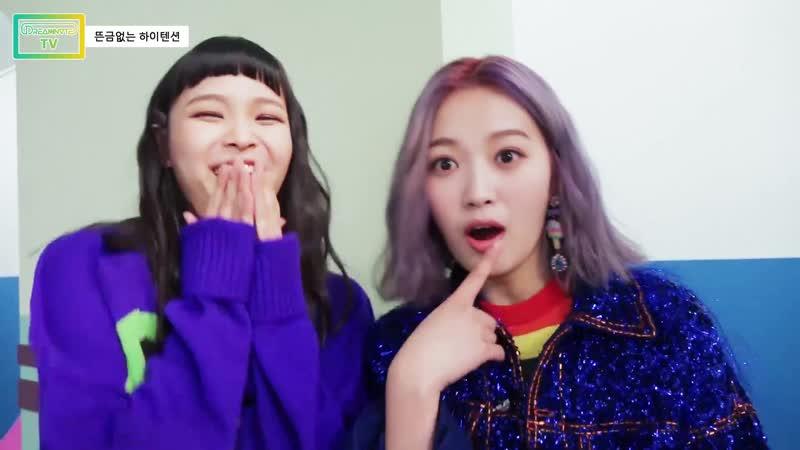 181118 [드림노트TV] 뜬금없는 하이텐션 (cheerful girls DreamNote)