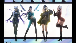 【League of Legends】K/DA ft. (G)I-DLE, Bea Miller, Wolftyla -「THE BADDEST」 Cosplay Dance Cover