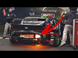 2JZ Swapped 2020 Toyota Supra Mk5 Catches On Fire!!