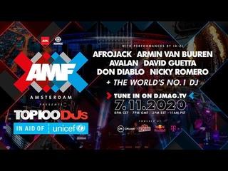 AMF Presents: Top 100 DJs Awards 2020