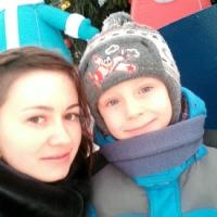 Фотография страницы Юли Задерей ВКонтакте