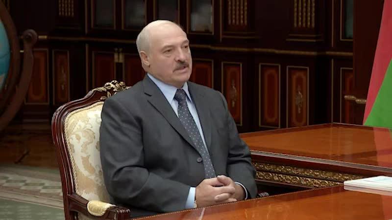 Президент Беларуси А.Лукашенко встретился с Государственным секретарем Союзного государства Г.Рапотой