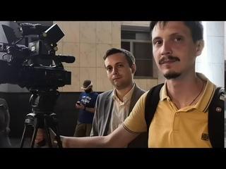 """Хабаровск встречает ВРИО - после митинга.""""ИЗВЕСТИЯ"""" не позвали на брифинг #ДегтяреваДолой #ЯМЫФургал"""