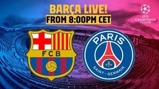 ⚽ BARÇA LIVE   BARÇA - PSG   Match Center   The Champions League returns! 🏆
