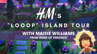 """H&M's """"LOOOP"""" ISLAND TOUR (FT. MAISIE WILLIAMS FROM GAME OF THRONES!) 