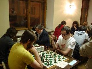 Сборная истфака по шахматам