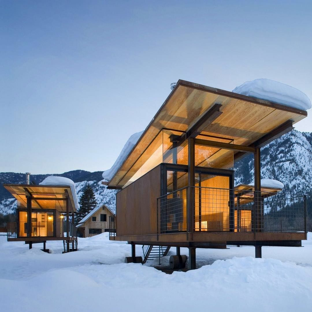 Rolling Huts by OSKA Architects
