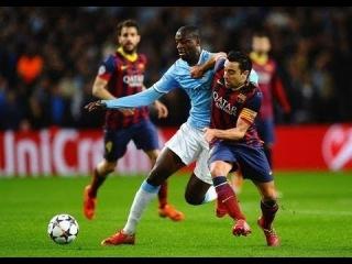 Yaya Toure vs FC Barcelona Home 13-14 by Bodya Martovskyi