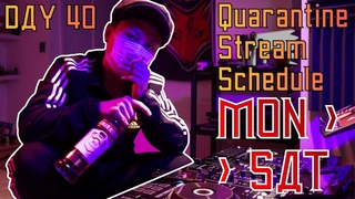 DJ SLAVINE - QuaRavine Isolation Stream DAY 40 (RUSSIAN HARDBASS)