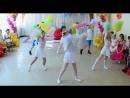 Детский ТАНЕЦ с помпонами. A dance with pompons in the kindergarden