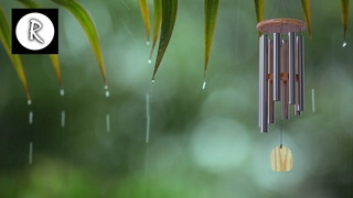 Chimes, Rain, Thunder & Wind Ambiance 12 Hours for Meditation,Sleep,Relaxing,Insomnia, Nature Sounds
