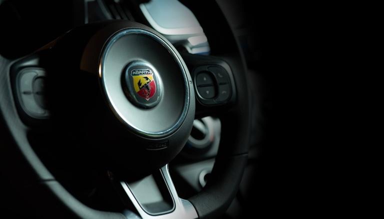 Автомобиль Abarth 595 Monster Energy Yamaha
