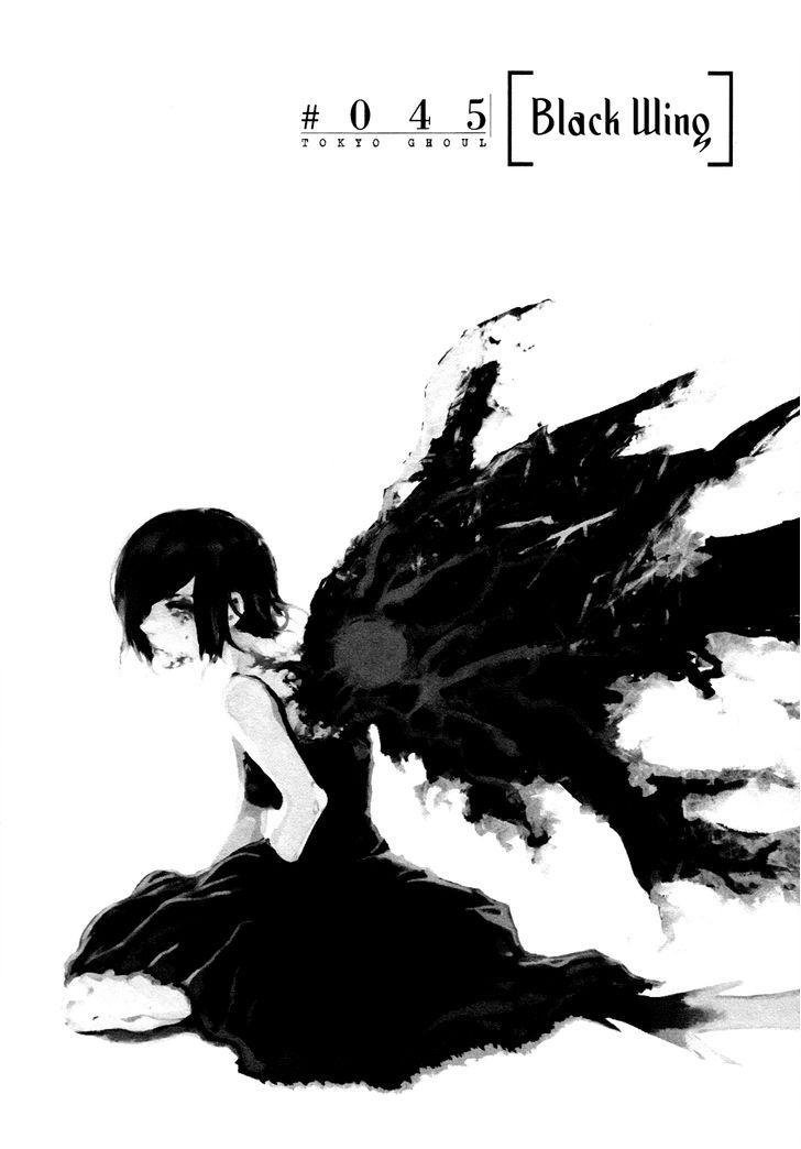 Tokyo Ghoul, Vol.5 Chapter 45 Black Wings, image #1