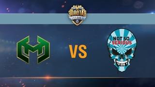 Carpe Diem vs Not So Serious - day 3 week 6 Season II Gold Series WGL RU 2016/17