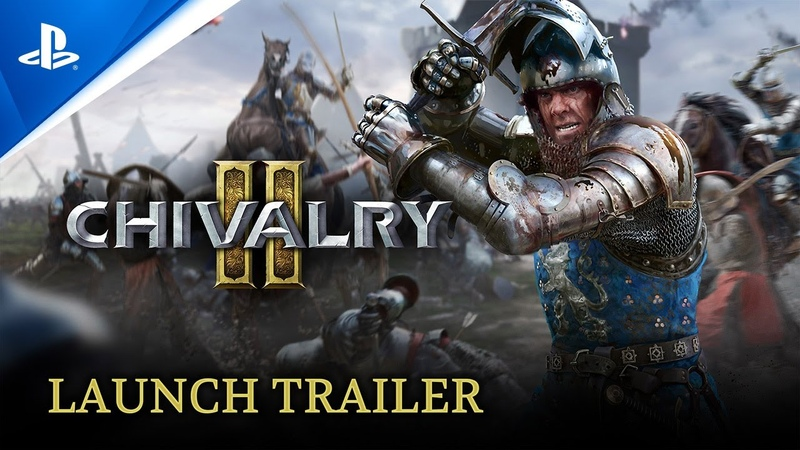 Chivalry 2 Launch Trailer PS5 PS4
