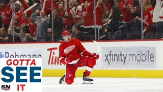GOTTA SEE IT: Anthony Mantha Lights Up The Dallas Stars With Four Goal Game